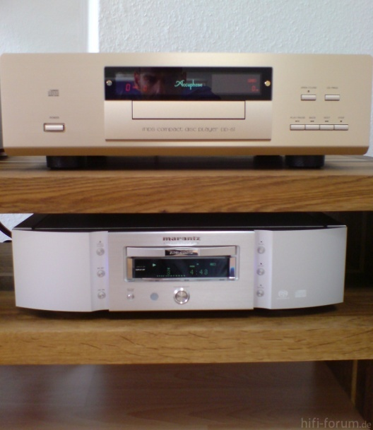 Accuphase DP 67 & Marantz SA 11S1   1