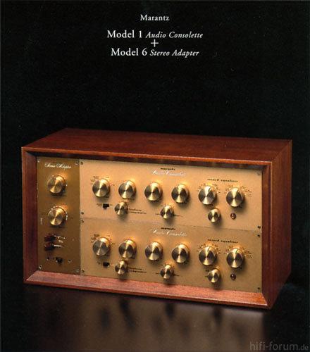 Marantz Model 1 & 6   1