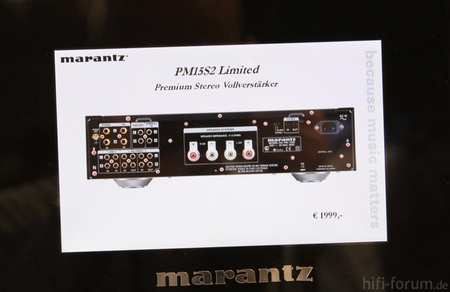 Marantz PM 15S2 Limited   2