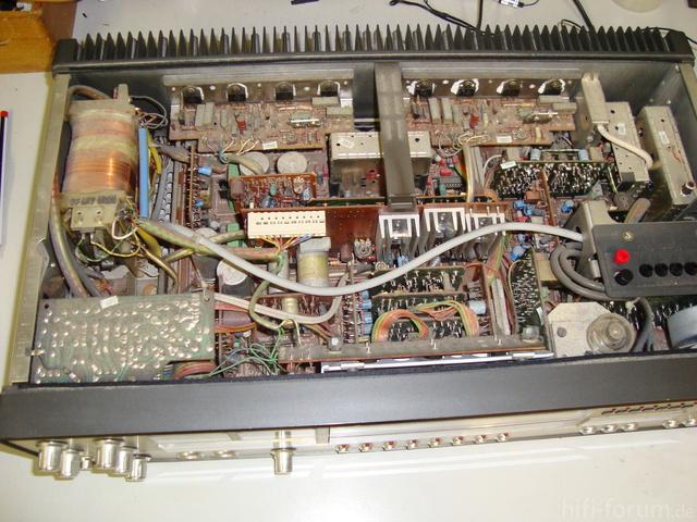 SABA 9240S Electronic: Innenansicht