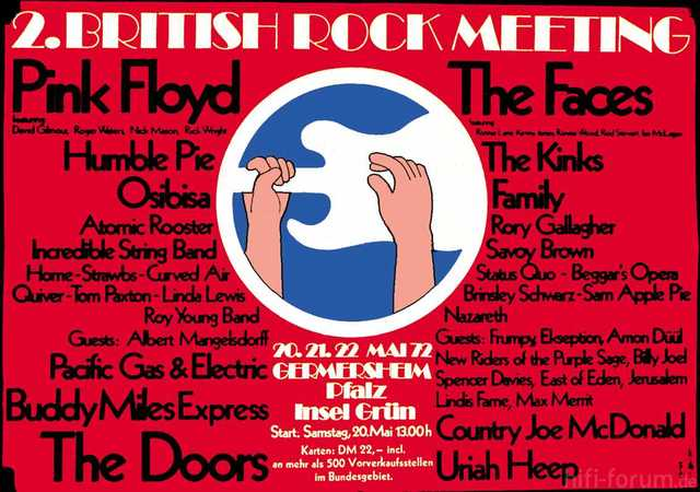 Germersheim 1972 2nd British Rock Meeting