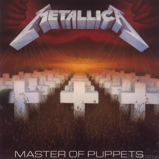 METALLICA Master Of Puppets(frontal)