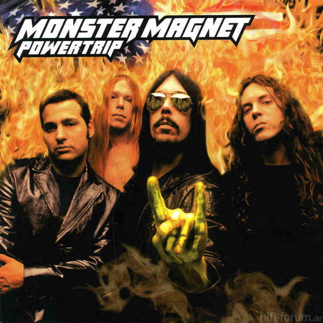 Monster Magnet Powertrip Frontal