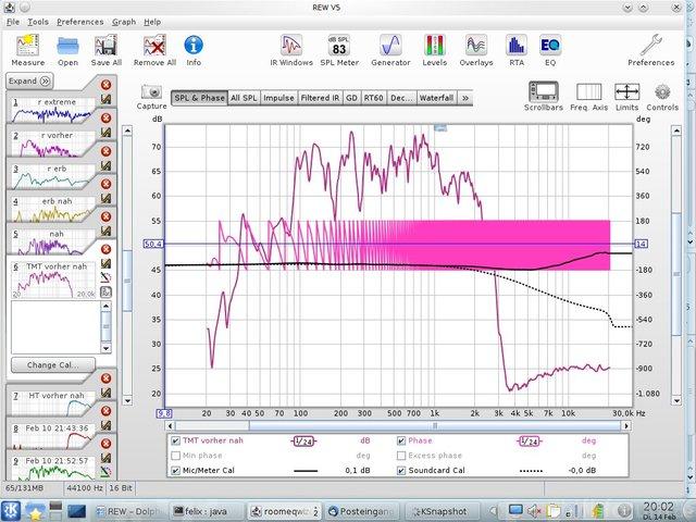 Messung 1 Bildschirmfoto
