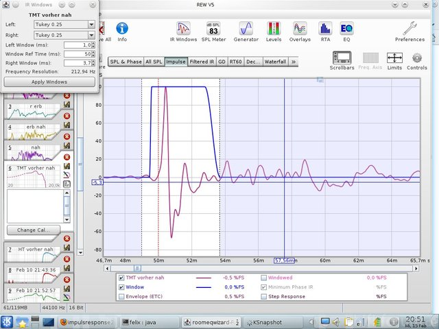Messung 3 Bildschirmfoto