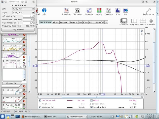 Messung 4 Bildschirmfoto
