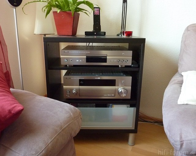 "Yamaha ""Titan-Kombo"" A/V Receiver RX-V2700 Und Multiformat-Player DVD-S2700"