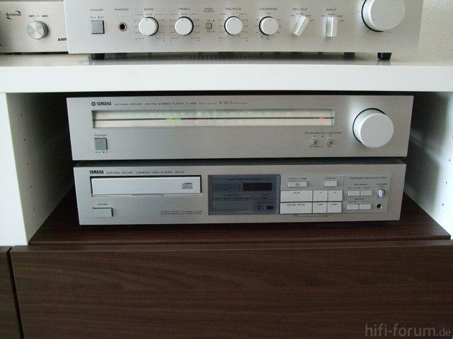 Yamaha T-460 + Yamaha CD-3