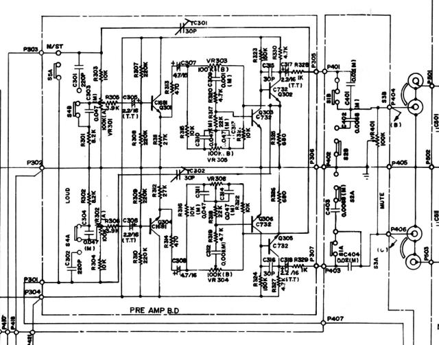 Vorverstärker rauscht mögliche Gegenmasnahmen, Elektronik ...