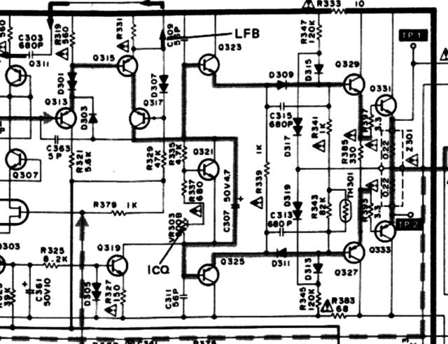 Technics SU-V5 Main Amp