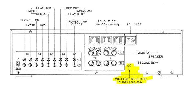 Voltage Selector V660