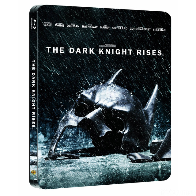 Big  The Dark Knight Rises Steelbook News 01