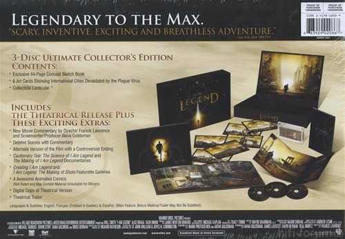 Dvd I Am Legend Ultimate Collectors Edition Soy Leyenda MLA O 2888201851 072012