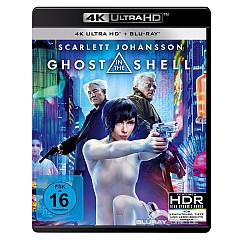 Ghost In The Shell 2017 4K 4K UHD Und Blu Ray DE