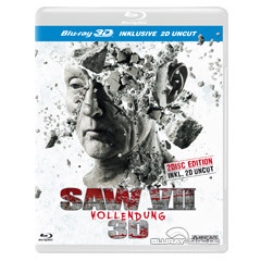Saw VII Vollendung 3D Unrated Fassung Blu Ray 3D CH