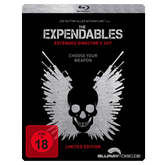 The Expendables 2010 Extended Directors Cut Steelbook