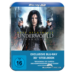 Underworld Awakening 3D Steelbook