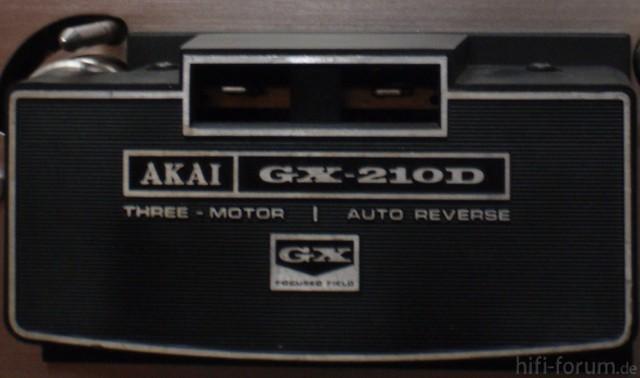 Akai 210D - 4a - Abdeckung Kopfblock