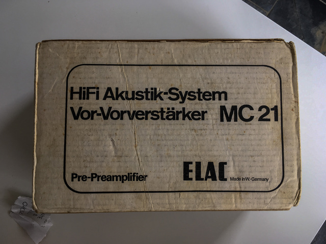 Elac MC-21 Mark II Phono Pre-Pre (1 von 3)