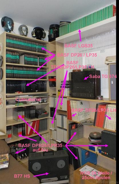 Musikzimmer (1) mit Hinweis