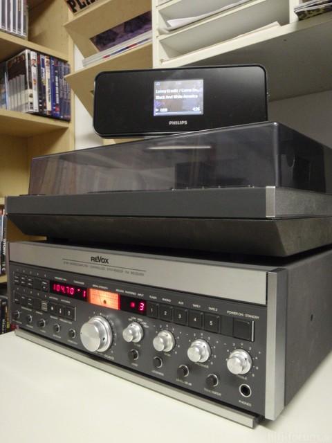 Revox B780 790 und Philips NP2500 - 1