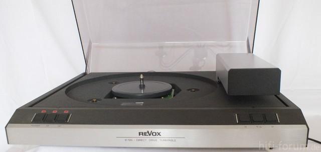 Revox B795 mit Ortofon VMS 30 M II (5)