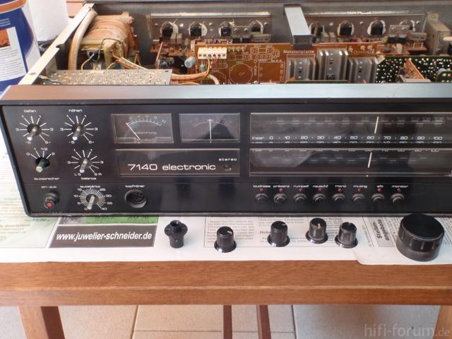 Saba 7140   12   Front Teilzerlegt