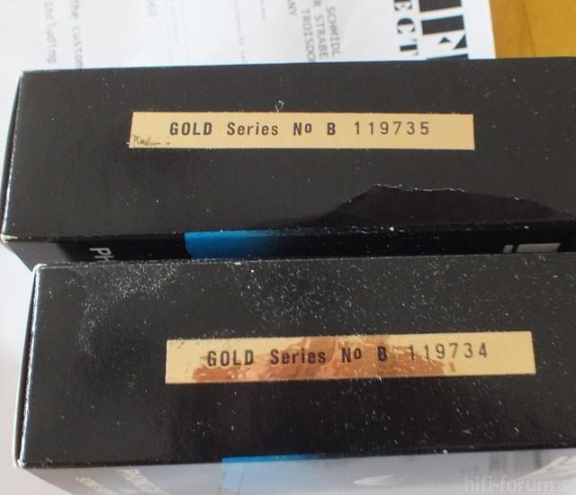 Sonus Gold Blue NOS   Ankunft (4)   Verpackung Und Rechnung