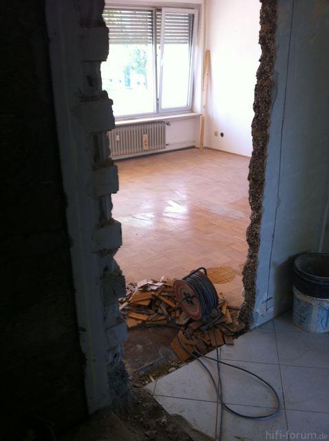 Wohnzimmer Neue Tür 10