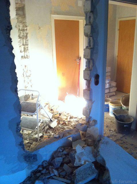 Wohnzimmer Neue Tür 3