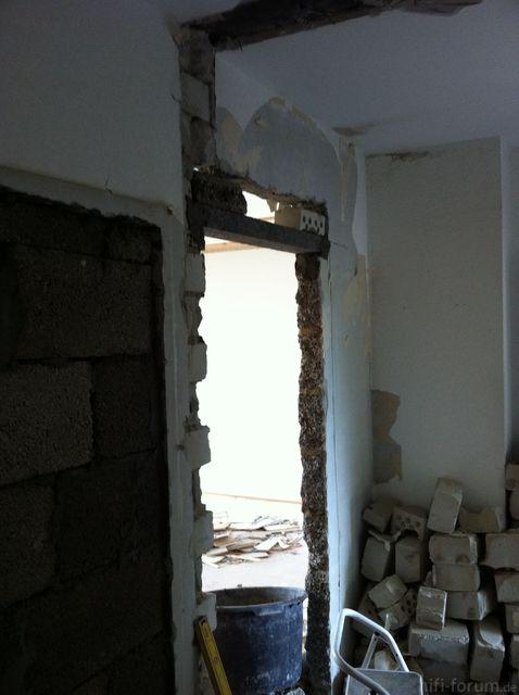 Wohnzimmer Neue Tür 8