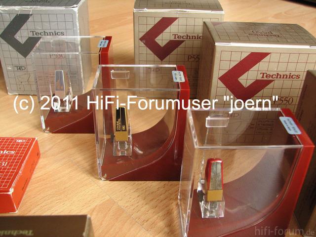 Collection Technics Cartridges
