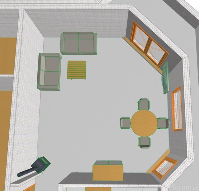 Wohnzimmereinrichtung