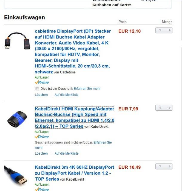 Samsung KS7090 - HDMI Adapter für UltraHD Auflösung vom PC, Samsung ...