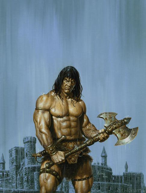 Conan The Barbarian By JoeJusko