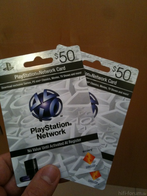 US-PSN Cards