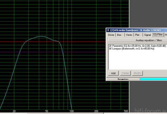 4th-Order-BP, JL Audio 12W3V3