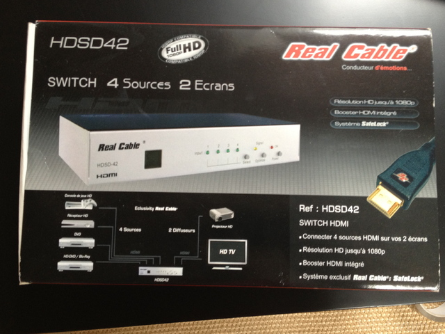 HDMI Switch Karton