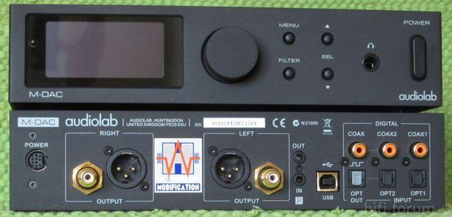 Audiolab M DAC F+B