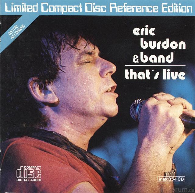 Eric Burden   That?s Live (INAK)