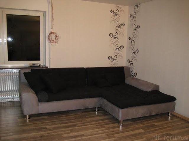 Endlich Neues Sofa