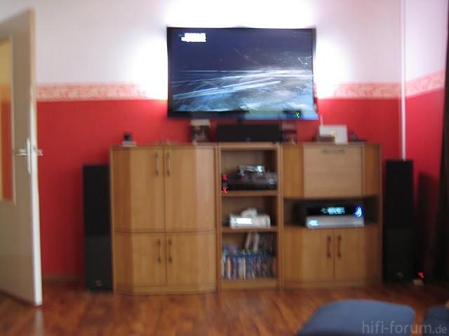 TV Wand Vor Umbau