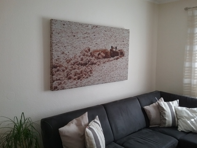 gro es akustikbild aus basotect ohne rahmen akustik. Black Bedroom Furniture Sets. Home Design Ideas