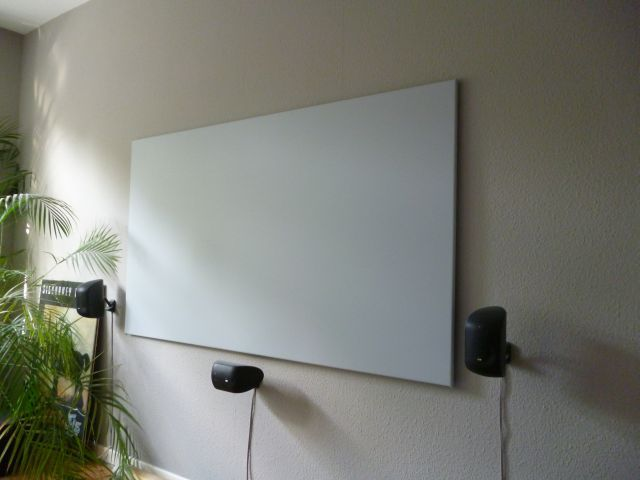Lg pf1500 led 3d beamer projektoren beamer hifi forum - Beamer leinwand selbstbau ...