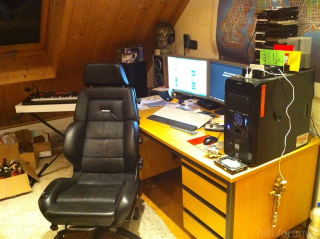 "Neuer ""Büro""-Stuhl"