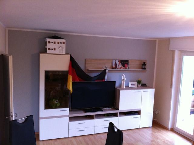 Welche anlage av receiver boxen f r diese wohnwand for Wohnwand und esstisch