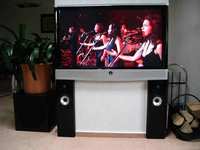 Bijou (visaton) Geschlossen Als Front Für Den TV