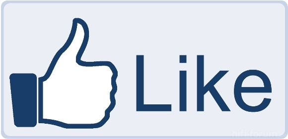 Facebook Like Button Big