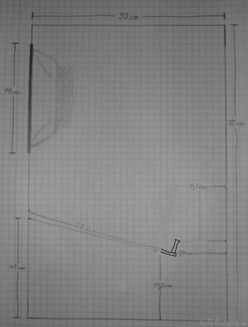 Bauplan Visaton BG17 In BR Mit Hornkehle