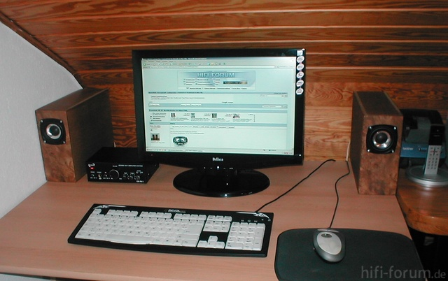 Fountek FE87 Mini TML Als PC LS